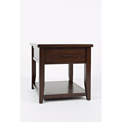 Hickey End Table with Storage