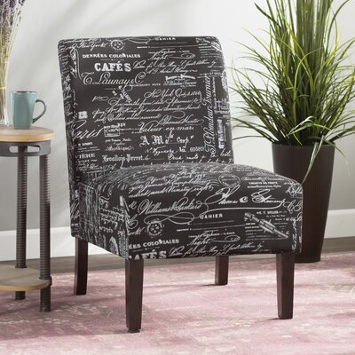 Marine Slipper Chair Upholstery: Black