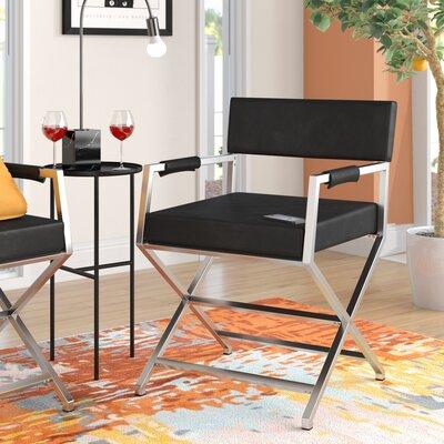 Chamorro Armchair Upholstery: Black