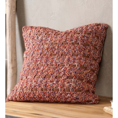 Culpepper Woven Alpaca Throw Natural/Organic Pillow Cover