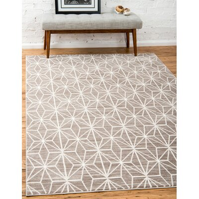 Uptown Brown Area Rug Rug Size: Rectangle 9 x 12