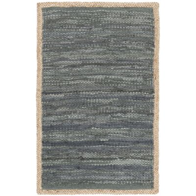 Church Hand-Woven Gray/Natural Area Rug Rug Size: Rectangle 8 x 10