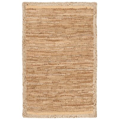 Church Hand-Woven Natural Area Rug Rug Size: Rectangle 6 x 9