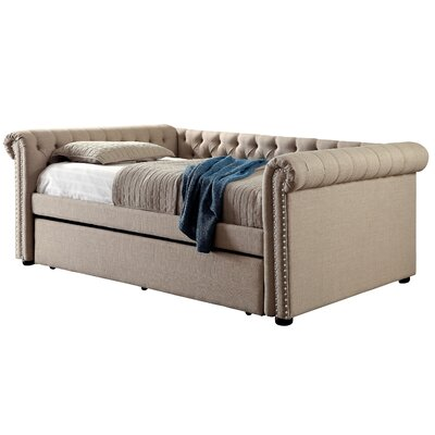 Dierking Daybed Color: Beige