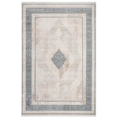 Iolanthe Beige Area Rug Rug Size: Rectangle 8 x 10