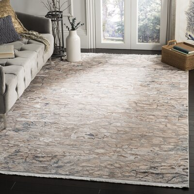 Cueva Beige Area Rug Rug Size: Rectangle 6 x 9