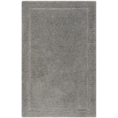 Wilbert Shag Hand-Tufted Gray Area Rug Rug Size: Rectangle 4 x 6