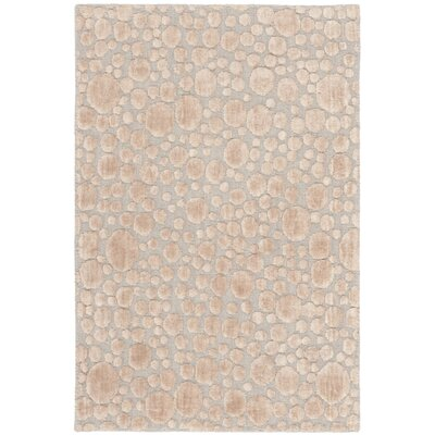 Oliverio Hand-Woven Beige Area Rug Rug Size: Rectangle 6 x 9