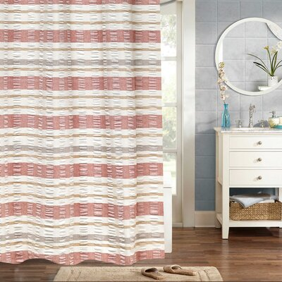 Dougherty Baltic Jaqcuard 100% Cotton Shower Curtain