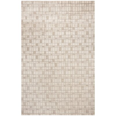 Oliveri Hand-Woven Beige Area Rug Rug Size: Rectangle 9 x 12