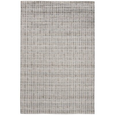 Oliveri Hand-Woven Gray Area Rug Rug Size: Rectangle 8 x 10