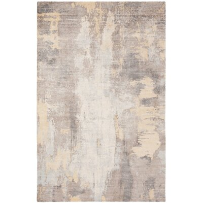 Culberson Beige Area Rug Rug Size: Rectangle 8 x 10