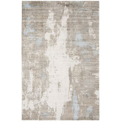 Culberson Blue Area Rug Rug Size: Rectangle 6 x 9
