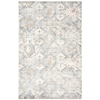 Pumphrey Blue Area Rug Rug Size: Rectangle 6 x 9