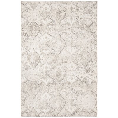 Pumphrey Gray Area Rug Rug Size: Rectangle 9 x 12