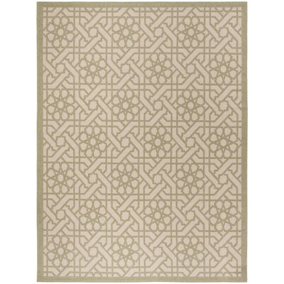 Dirksen Beige Area Rug Rug Size: Rectangle 27 x 82