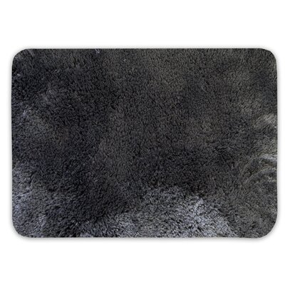 Achille St. Lucia Prima Bath Rug Color: Charcoal, Size: 20 W x 32 L