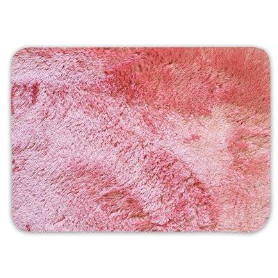 Achille St. Lucia Prima Bath Rug Color: Coral, Size: 17 W x 24 L