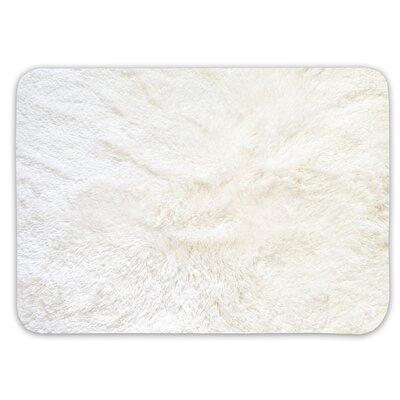 Achille St. Lucia Prima Bath Rug Color: Cream, Size: 20 W x 40 L