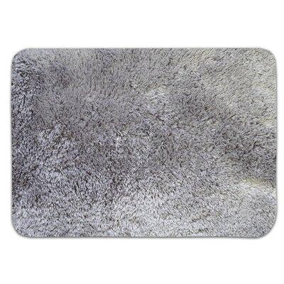 Achille St. Lucia Prima Bath Rug Color: Gray, Size: 17 W x 24 L