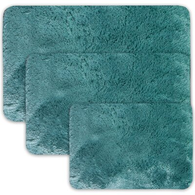 Achilles 3 Piece St. Lucia Prima Bath Rug Set Color: Tea