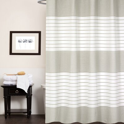 Cuellar Pacey 100% Cotton Shower Curtain Color: Beige