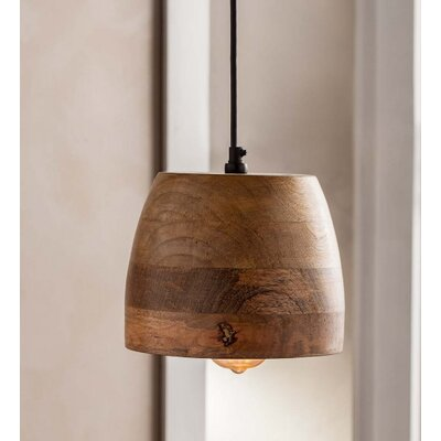Linke 1-Light Drum Pendant
