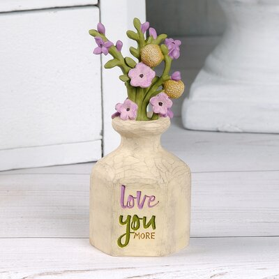 Edelman Love You Vase with Flowers 2226B48743674ADF93055D03B5614270