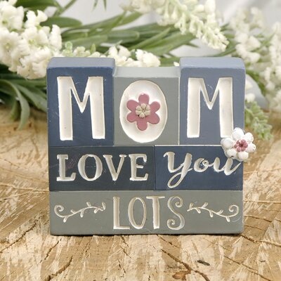 Winford Mom Love You Lots Stacked Letter Blocks 0F4EC81DCC154D6CB8D7C75ACFFCC2E5