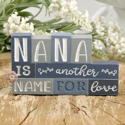 Wingert Nana Love Stacked Letter Blocks 2320DE41477C45DB89ED91D04FE21E0A
