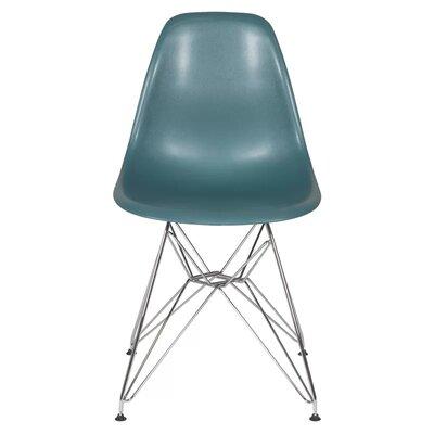 Fenske Dining Chair Color: Peacock
