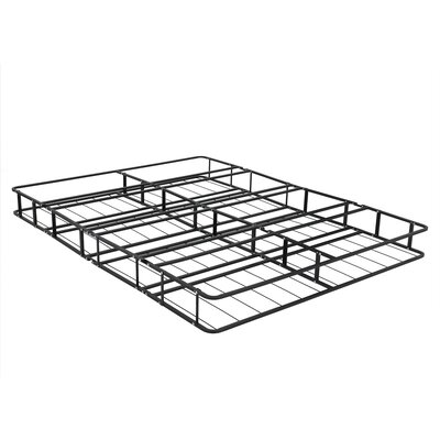 Belz Fully Assembled Metal Platform Foundation Bed Frame Size: Queen