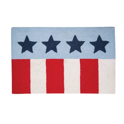 Eakes Stars and Stripes Door Mat