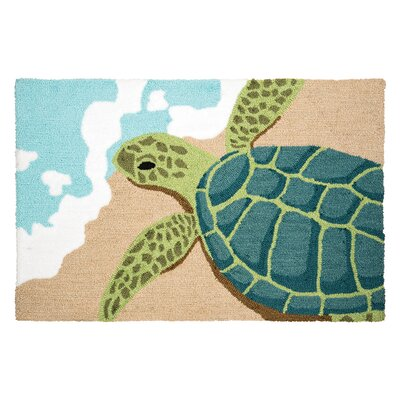Turtle Waves Door Mat