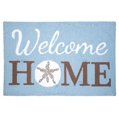 Sabreen Welcome Home Sandollar Door Mat