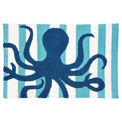 Crume Striped Octopus Door Mat