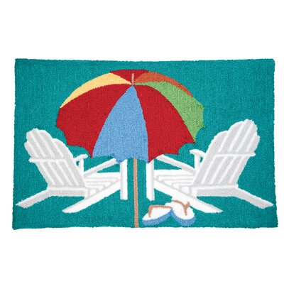Sabreen Beach Umbrella Door Mat