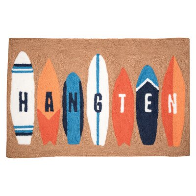 Dickens Surf Board Door Mat