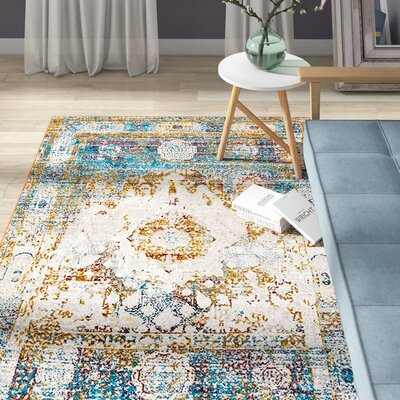 Hartell Beige Area Rug Rug Size: Rectangle 8 x 10