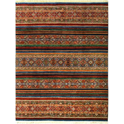 One-of-a-Kind Nutt Hand-Knotted Wool Brown/Red Area Rug