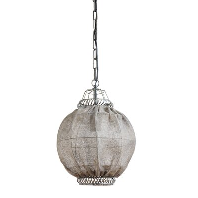 Crosland Metal 1-Light Geometric Pendant
