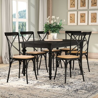 Albina Dining Set Finish: Black