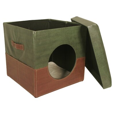 Collapsible Pet Bed Color: Green