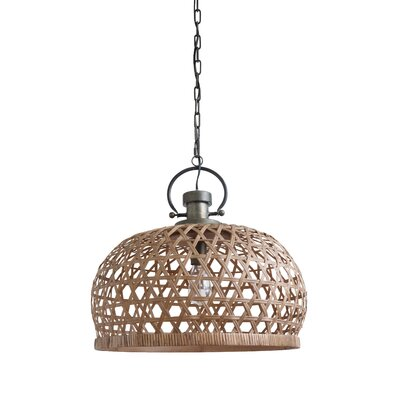 Chrisman Metal 1-Light Inverted Pendant