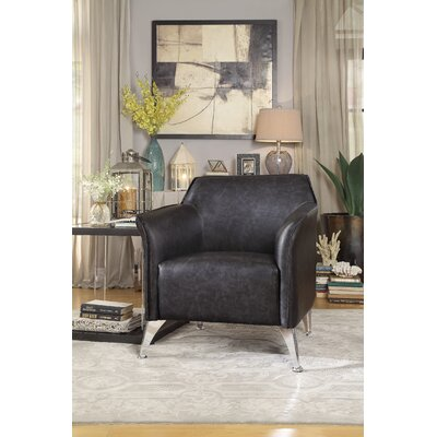 Fenske Club Chair Upholstery: Gray