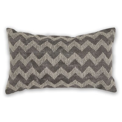 Montalvo Chevron 100% Cotton Lumbar Pillow