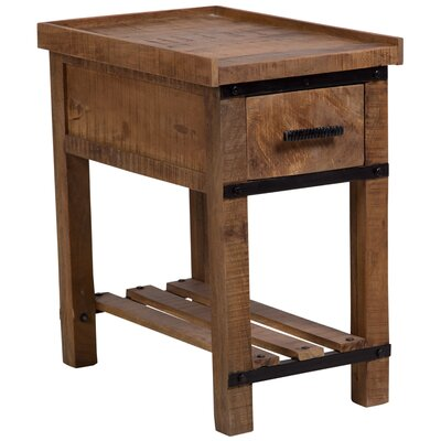 Perlman Barn Door Chair End Table