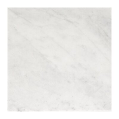 Imperial Carrara 3 x 6 Marble Subway Tile in White
