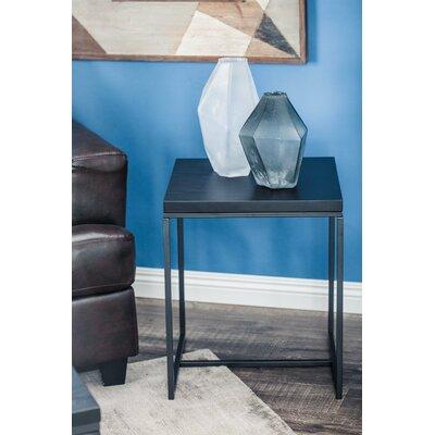 Regil Contemporary Square End Table Color: Gray