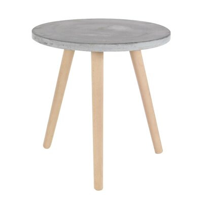 Shafter Fiberclay End Table Color: Gray